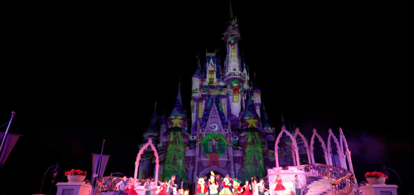 Happy Holidays – Mickey's Most Merriest Celebration Style!