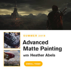 Advanced Matte Painting Starts Soon!